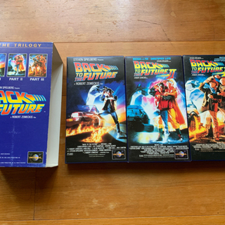 BACK TO THE FUTURE  1〜3 ビデオテープ