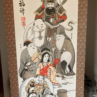 七福神 掛軸の画像