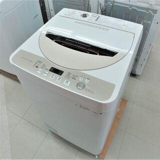 〇USED シャープ4.5K洗濯機 ES-GE45R-C