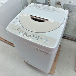 〇USED シャープ4.5K洗濯機 ES-GE45P-C