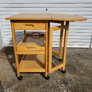 ニトリ 折り畳み式 キッキン収納 キッチンボード