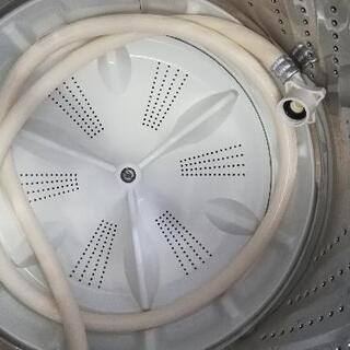 【23区送料・設置無料】⭐パナソニック洗濯機5kg+アクア冷蔵庫126L⭐急ぎも対応可能⭐JWG56 - 家電