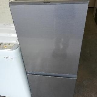 【23区送料・設置無料】⭐パナソニック洗濯機5kg+アクア冷蔵庫126L⭐急ぎも対応可能⭐JWG56 − 東京都