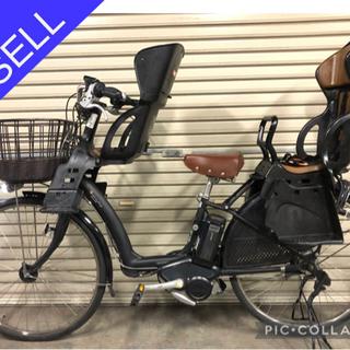 電動自転車☆ブリヂストン ボーテ 残キロSW 3人乗りなのに特価☆の画像