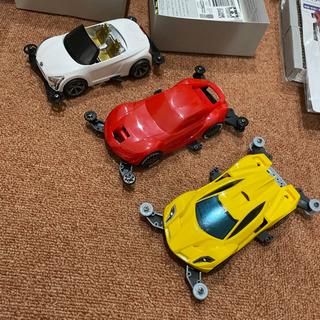 ミニ四駆 コース マシン3台 その他セット