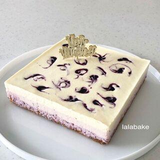 ♡ ハロウィンレアチーズケーキ(9/1~10/31)♡