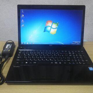 ノートPC NEC VersaPro VK18EF-G/Cele...