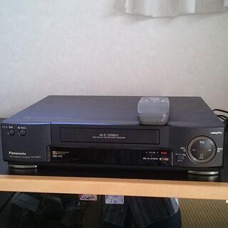 Panasonic カセットデッキ  NV-HB50  通電確認...