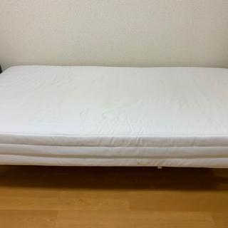 無印 脚付マットレス シングルベッド (9日まで)