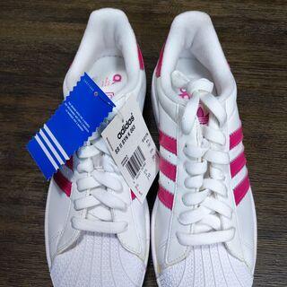引き取り限定!adidas SS ピンク 24.5cm