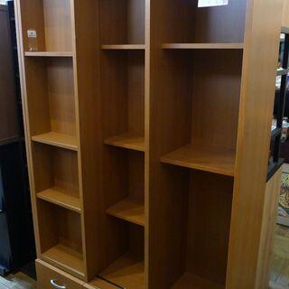 【値下げしました】大型スライドオープン書棚