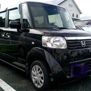 n-box  H 24年式 黒 走行15万k  ナビTV