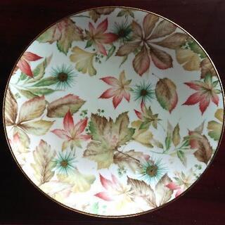昭和レトロ 大皿  花柄