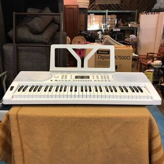 ☆ONETONE ワントーン 61鍵盤 キーボード ホワイト O...