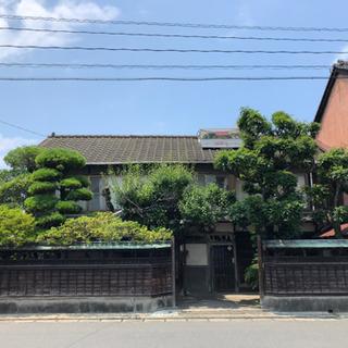 宇島駅徒歩近く、料亭として使われていたこともある古民家、お譲りい...