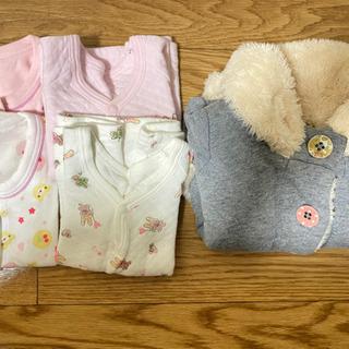 女の子 80サイズ 冬服 ベビー服 子ども服の画像