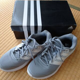 【adidas】ランニングシューズ(23.0㎝)