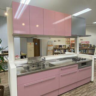 【ネット決済】【1点限り】展示品システムキッチン(未使用品)LI...