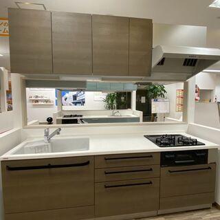 【ネット決済】【1点限り】展示品システムキッチン(未使用品)トク...