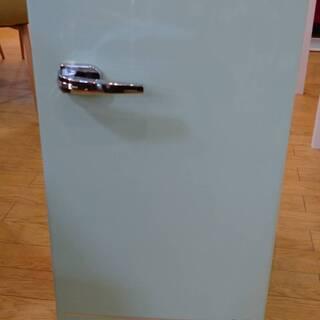 【中古品】85リットル 1ドア 冷蔵庫 レトロ