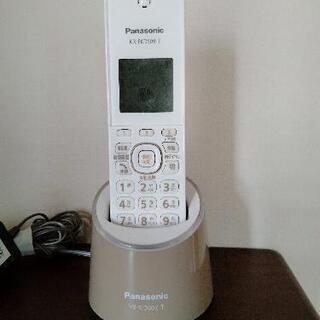【ネット決済・配送可】パナソニックのコンパクトな電話機
