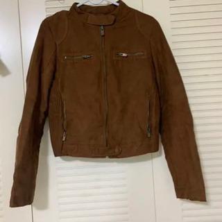 Zaraのコート レザージャケット ライダースジャケット