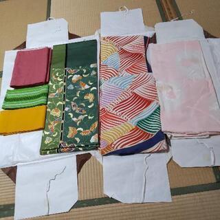 着物と帯とリバーシブル帯と長じばんと半帯セット