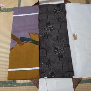 大島紬着物と帯セット未使用✨