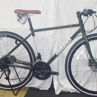「新車」在庫1台限り。クロスバイクのご紹介⑧/RALEIGH RFF
