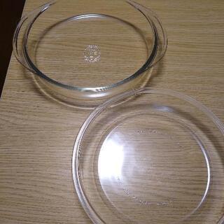 パイレックスPYREXの耐熱容器2個 パイ皿