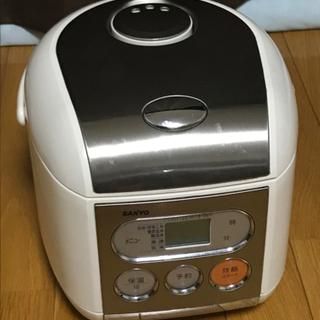 【取引完了】稼動品マイコンジャー炊飯器 100円