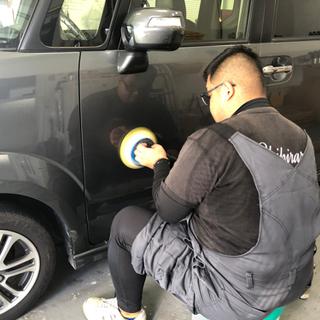 水垢、洗車傷でお困りの方🥺磨き、ガラス系コーティング15000円‼️🎉