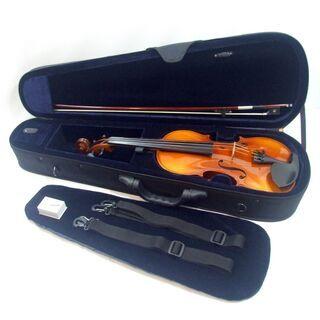 メンテ済み ヨーロッパ HORA ルーマリア製 バイオリン 4/4 美品セット インド製ガルネリタイプ顎あて ナイロン弦 アジャスター内蔵テールピース 全国発送対応 中古バイオリン 名古屋近郊 手渡し可能 愛知県清須市より 管理(カ)8590 - 売ります・あげます