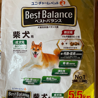 ベストバランス柴犬用 5.5キロ