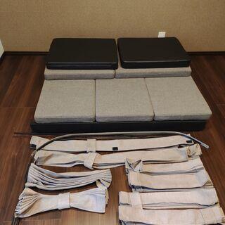バモスホビオ専用 マット・カーテンセット 車中泊、キャンプで!