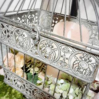 🌸デコラティブなバードケージ 鳥籠 🌸フレンチアンティークなイン...