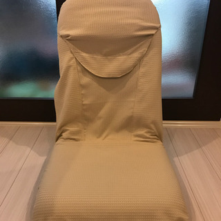 座椅子(カバー洗濯済み) 奈良市直接引き渡し - 奈良市