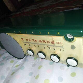 東芝真空管ラジオ マジックアイうぐいすLS 6ZB-208