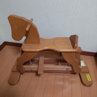 【ネット決済】木馬★幼児★キッズ★木製★乗用玩具★おもちゃ★室内...