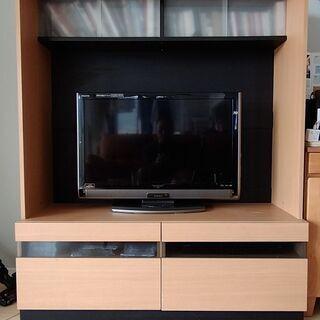 【ネット決済】値下げしました! 収納もできるテレビ台
