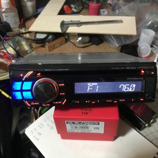 【ネット決済】ALPINE CDE-212J USBあります