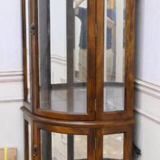 カリモク家具 ショーケース 棚板ガラス 新品