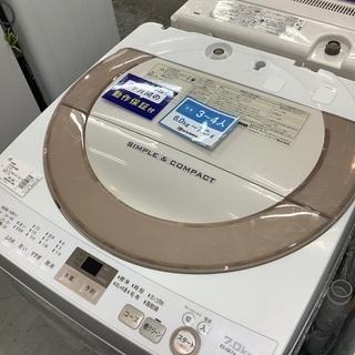 売場展開中!SHARP 全自動洗濯機
