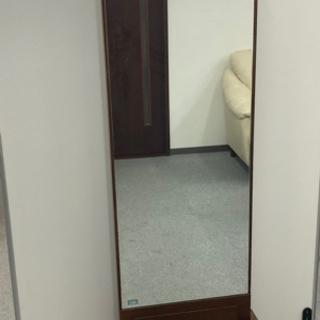 ハギワラインテリア 鏡  全身鏡