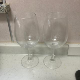 ワイングラスセット2個あげます。