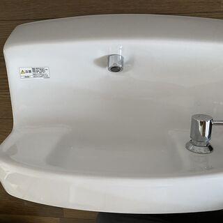 【ネット決済・配送可】コンパクト手洗器用ハンドル式単水栓 TL8...