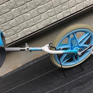 【ネット決済】一輪車 ブリジストン 水色