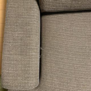 ソファ 3人掛け 寝椅子部分あり L字ソファ − 大阪府