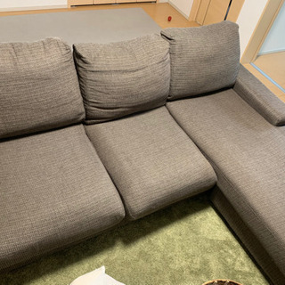 ソファ 3人掛け 寝椅子部分あり L字ソファ - その他