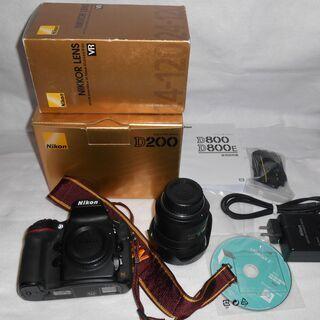 Nikon D800 + レンズ (AF-S VR Zoom-N...